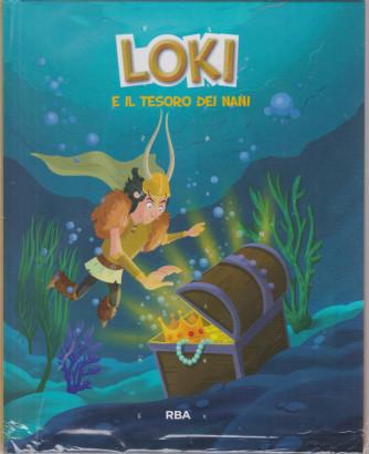 Miti e dei vichinghi - Loki e il tesoro dei nani -  n. 4 - 5/3/2021 -  Copertina rigida - Settimanale