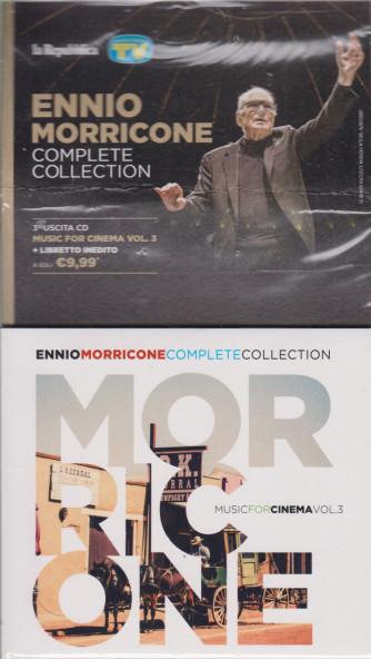 Gli speciali musicali di Sorrisi - n. 20 - 16/7/2021 -Ennio Morricone - Complete collection -terza  uscita cd Muisc for cinema vol. 3 + libretto inedito