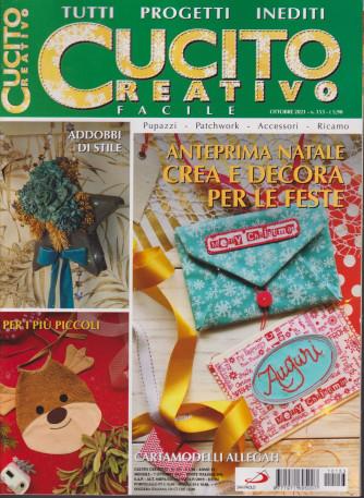 Cucito creativo facile - n. 153 - ottobre 2021 - mensile