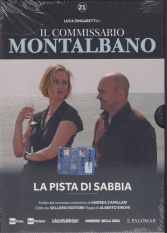 Luca Zingaretti in Il commissario Montalbano -La pista di sabbia- n. 21 -   - settimanale