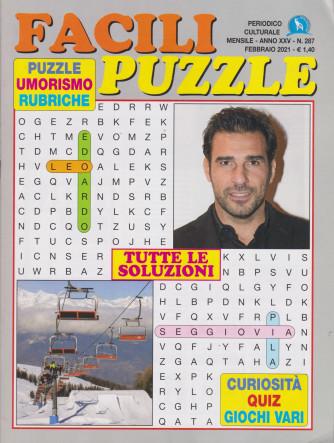 Facili puzzle - n. 287 - mensile - febbraio 2021