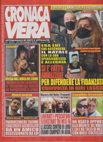 N.Cronaca Vera - n. 2521- 22 dicembre 2020 - settimanale di fatti  e attualità