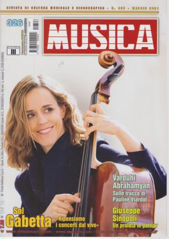 Musica -   n. 326 - mensile -maggio 2021