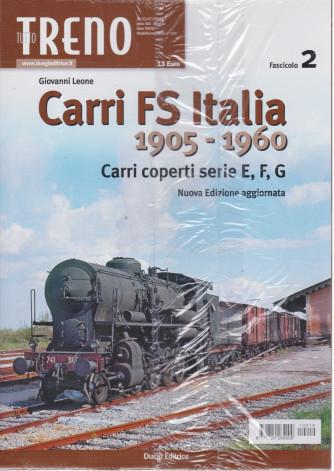 Tutto Treno   -Carri FS Italia 1905-1960 -  n. 210 - mensile -2/7/2021 - secondo fascicolo 2021