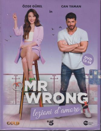 Mr Wrong - Lezioni d'amore - n. 24-  settima  uscita  - 2 dvd + booklet - 2 ottobre 2021   - settimanale