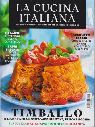La cucina italiana - n. 8 - mensile - agosto  2021