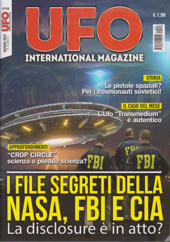 Ufo International Magazine - n. 98 -  giugno  2021-  mensile