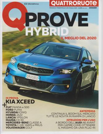 Quattroruote Dossier - Q Prove - Hybrid il meglio del 2020 - n. 85  trimestrale - ottobre 2020