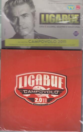 Cd Sorrisi Collezione 2 - n. 29- Ligabue  -16° cd - Campovolo 2011  - lagosto 2021  - settimanale - formato maxi digipack + libretto inedto  + cd + dvdo+cd + dvd     cd + dvd