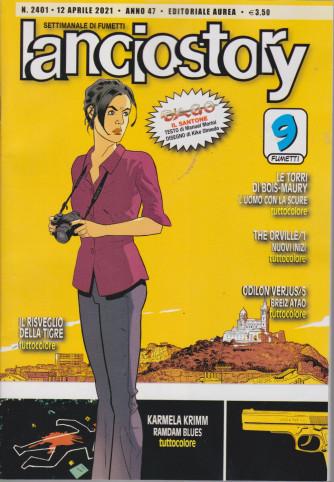Lanciostory - n. 2401 - 12 aprile 2021 - settimanale di fumetti