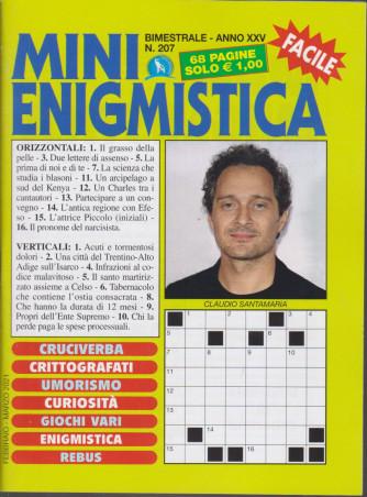 Mini Enigmistica - n. 207 - bimestrale - febbraio - marzo 2021 - 68 pagine
