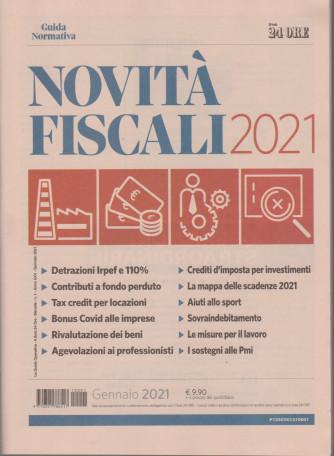 Novità fiscali 2021 - n. 1 - mensile - gennaio 2021