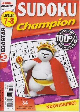 Sudoku Champion - livello 7-8 - n. 34 - maggio - giugno   2021 - bimestrale