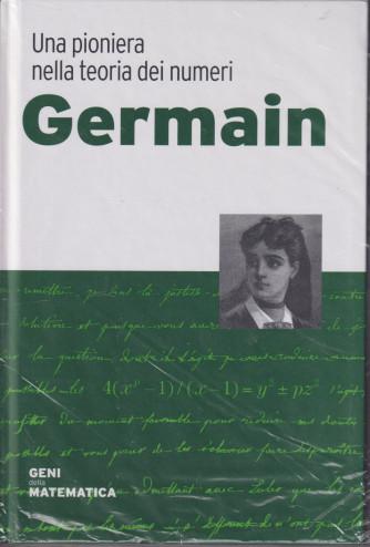 Geni della matematica -Germain n. 25 - settimanale- 3/9/2021 - copertina rigida