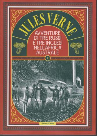 Jules Verne -Avventure di tre russi e tre inglesi nell'Africa australe- n. 71 -19/1/2021-  settimanale