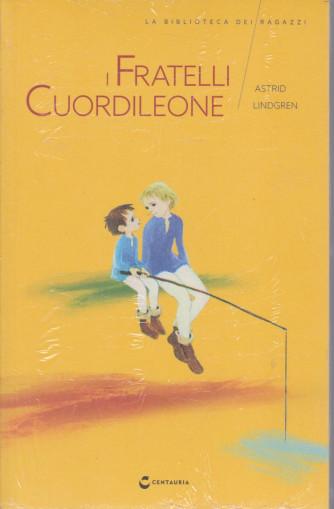 La biblioteca dei ragazzi -Fratelli Cuordileone -Astrid Lindgreen - n. 16  -   settimanale - 24/4/2021