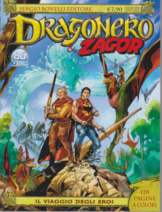 Dragonero  & Zagor - n. 8 - luglio 2021 - Il viaggio degli eroi - annuale - 128 pagine a colori