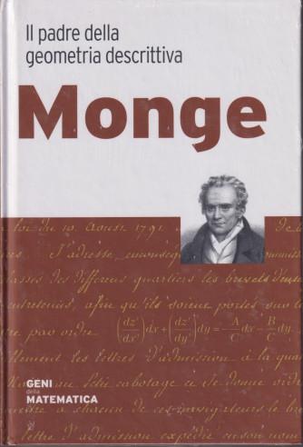 Geni della matematica -Monge -  n. 31  - settimanale- 15/10/2021 - copertina rigida