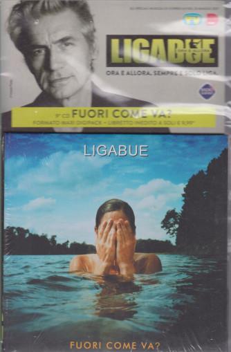 Cd Sorrisi Collezione 2 - n. 22- Ligabue  -9° cd -Fuori come va?-    25/5/2021 - settimanale - formato maxi digipack + libretto inedito -