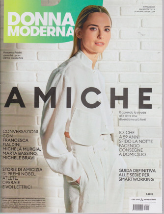 Donna moderna - n. 12- 4 marzo 2021 - settimanale