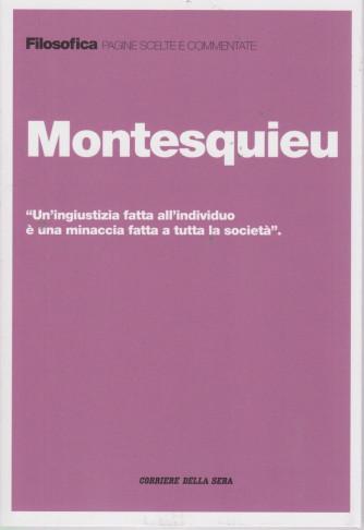Filosofica -Montesquieu- n. 35 - settimanale - 205  pagine