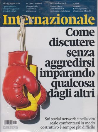 Internazionale - n. 1414 - 18/24 giugno    2021 - settimanale - 2 riviste