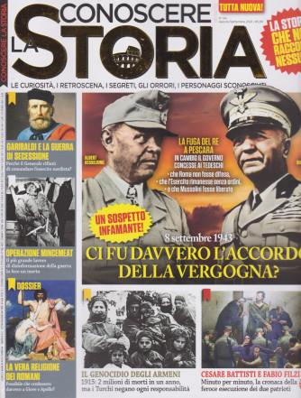 Conoscere la storia - n. 64 - agosto - settembre  2021 - bimestrale