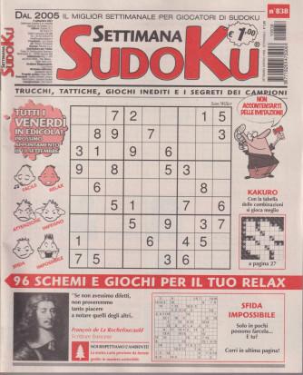Settimana Sudoku - n. 838 - settimanale -3 settembre  2021