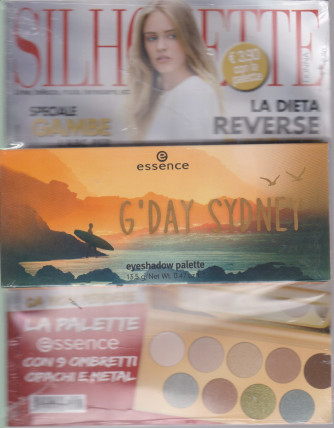Silhouette Donna pocket - + La palette essence con 9 ombretti opachi e metal n. 1  - gennaio 2021 - mensile
