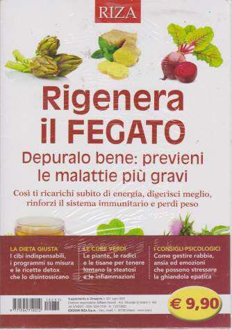 Dimagrire - Rigenera il fegato - n. 231 -luglio 2021