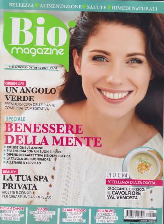 Bio Magazine - n. 83 - mensile ottobre  2021
