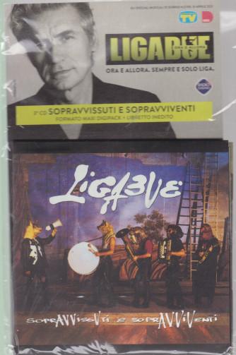 Cd Sorrisi Collezione 2 - n. 16 - Ligabue  -3° cd - Sopravvissuti e sopravviventi -    13/4/2021 - settimanale - formato maxi digipack + libretto inedito