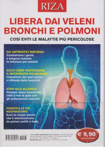 Riza Speciale - Libera dai veleni bronchi e polmoni - n. 23 - aprile - maggio 2021