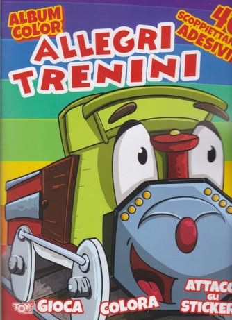 Toys2 Serie Oro - Album color -  Allegri trenini - n. 46 - bimestrale - 17 dicembre 2020