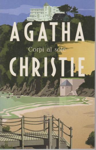 I grandi autori - n. 13 - Agatha Christie -Corpi al sole -  23/3/2021- settimanale - 210  pagine