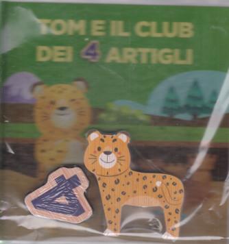 Impara l'alfabeto con i tuoi animali preferiti - Tom e il club dei 4 artigli - n. 29 - settimanale - 19/12/2020 - copertina rigida