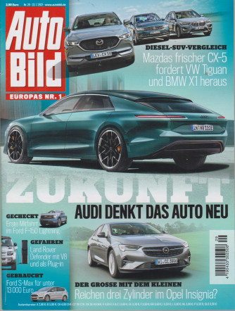 Auto Bild - n.29 - 22/7//2021 - in lingua tedesca