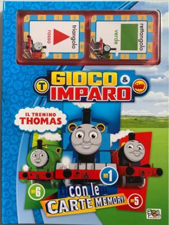 Libro Gioco&Imparo con Il trenino Thomas con le carte memory