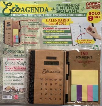 Eco Agenda: Calendario fino al 2025 + Calcolatrice + Corso gestione tempo