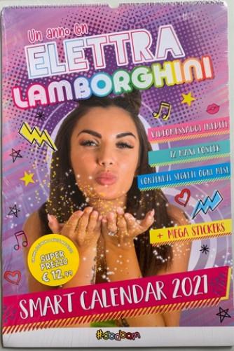 Calendario 2021 Un anno con Elettra Lamborghini - cm 40 x 60 con spirale + mega stickers