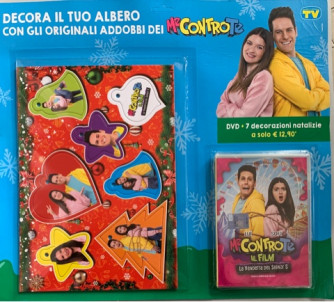 I Dvd di  Sorrisi Collection 3 -  n. 1 Me contro Te DVD + 7 decorazioni natalizie