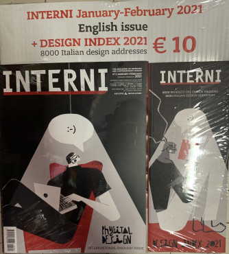 Interni + Interni Italian design 2021 - n. 2 - gennaio 2021 - mensile - 2 riviste
