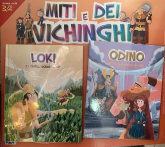 Miti e dei vichinghi - Loki - Odino -  2a uscita - Copertina rigida - Settimanale