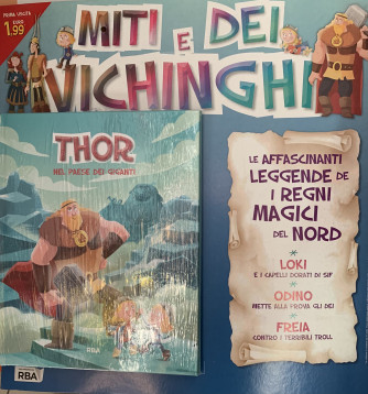 Miti e dei vichinghi - Thor  - 1auscita - Copertina rigida - Settimanale