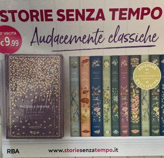 STORIE SENZA TEMPO2 - Piccole donne di Louisa May Alcott - Terza uscita - Copertina rigida