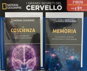 I GRANDI SEGRETI DEL CERVELLO - La coscienza - La memoria - 2a uscita