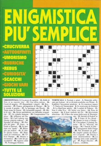 Enigmistica piu' semplice - n. 69 - bimestrale -settembre - ottobre 2021 -