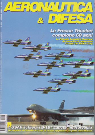 Aeronautica & Difesa - n. 414 - aprile  2021 - mensile