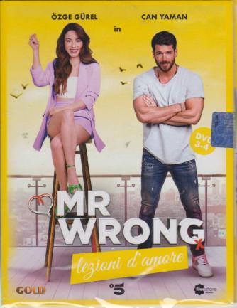 Mr Wrong - Lezioni d'amore - n. 19-  seconda  uscita  - 2 dvd + booklet - 24luglio  2021   - settimanale