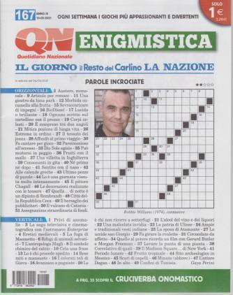 Enigmistica - n. 167 - 10/5//2021- settimanale